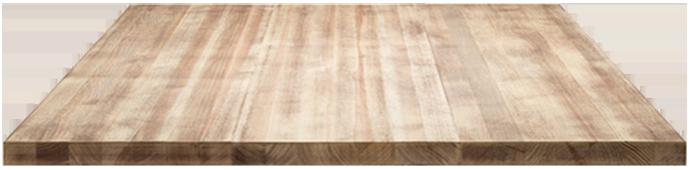 Plan de travail en bois massif, Bois de Saint-Malo